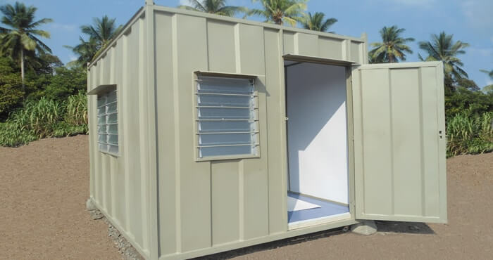 Malaysia portable office cabin custom container modifications for Garden shed johor