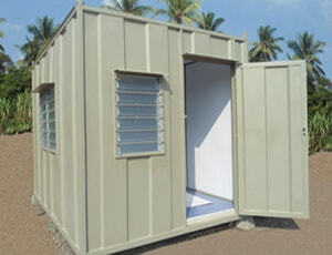 guard house, toilet shower cabin