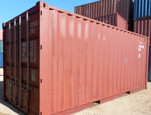 used  & modified storage container